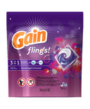 Gain Flings! 3-in-1 Laundry Pacs with Oxi-Boost & Febreze