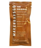 MakerBars GO Protein Balls The Original Peanut Butter Dark Chocolate Almond