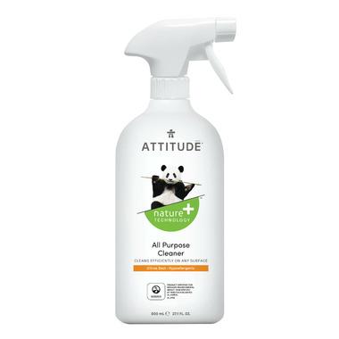 ATTITUDE Nature+ All Purpose Eco-Cleaner Citrus Zest