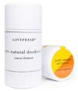Lovefresh Sweet Orange Patchouli Natural Cream Deodorant Stick