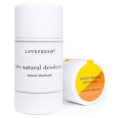 Lovefresh Sweet Orange Patchouli Natural Cream Deodorant Stick