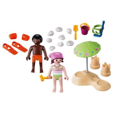 Playmobil Children at the Beach