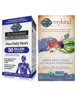 Ensemble de produits pour la santé des hommes Garden of Life