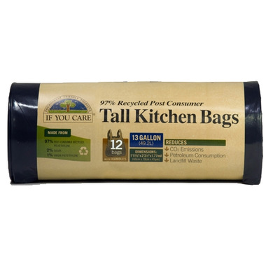 If You Care Recycled Tall Kitchen Trash Bag