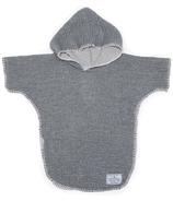 Tofino Towel Co. Pebble Kids Poncho Grey