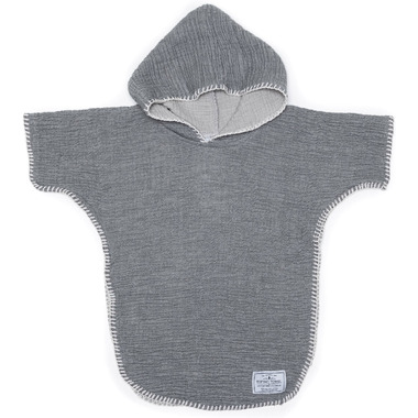 Tofino Towel Co. Pebble Kids Poncho Grey