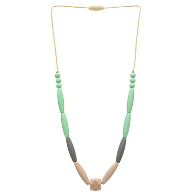 Chewbeads Bedford Teething Necklace Mint
