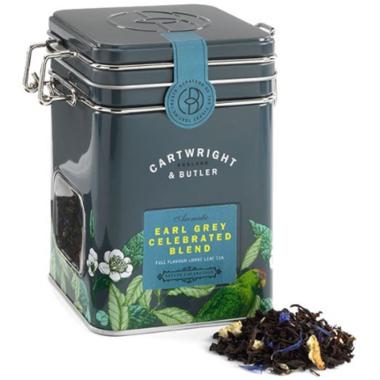 Cartwright & Butler Earl Grey Loose Leaf Tea Caddy