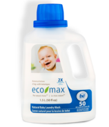eco-max 2X Concentrated Natural Baby Laundry Wash