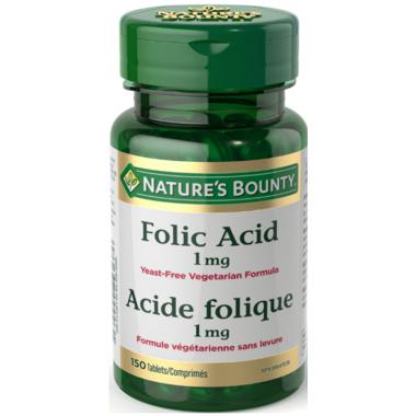 Nature\'s Bounty Folic Acid