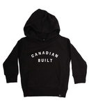 Peace Collective Canadian Built Kids Hoodie Black