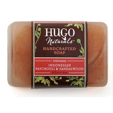 Hugo Naturals Indonesian Patchouli & Sandalwood Bar Soap