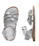 Salt Water Sandals The Original Children's Sandal Silver