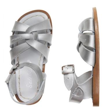 Salt Water Sandals The Original Children\'s Sandal Silver