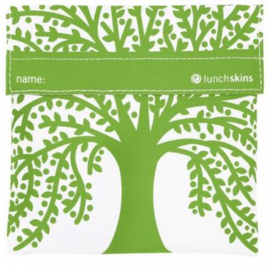 Lunchskins Green Tree Sandwich Bag