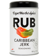 Cape Herb & Spice Rub Shaker Tin Caribbean Jerk Seasoning