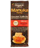 ZibaDel Creations Manuka Honey Chocolate Truffle Bar Milk Chocolate