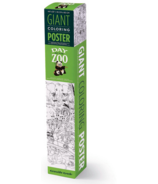 Crocodile Creek Giant Colouring Poster Zoo