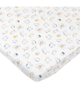 Nest Designs Fitted Organic Cotton Crib Sheet Pacific Puffins