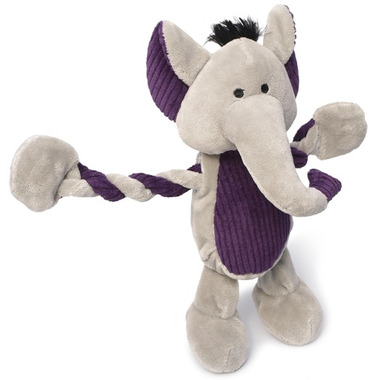 Charming Pet Products Pulleez Elephant Dog Toy