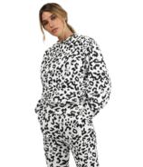 BRUNETTE The Label Best Friend Crew Snow Leopard