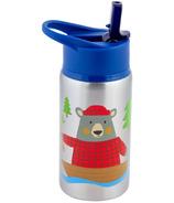 Stephen Joseph Stainless Steel Water Bottle Bear