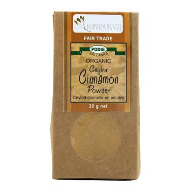 Kurundu Ceylon Cinnamon Powder Fair Trade & Organic