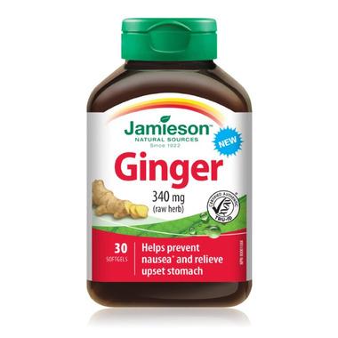 Jamieson Ginger Softgel 340mg