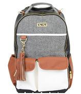 Itzy Ritzy Boss Backpack Coffee & Cream