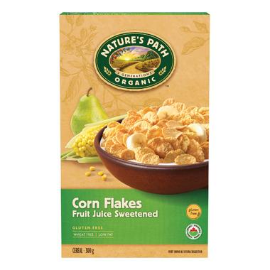 Nature\'s Path Fruit Juice Corn Flakes