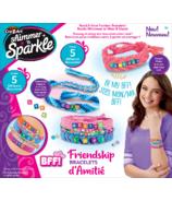 Kit de bracelet BFF miroitant et scintillant de Cra-Z-Art (Cra-Z-Art Shimmer 'n Sparkle BFF Bracelet Kit)