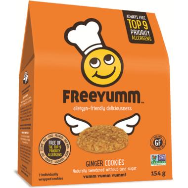 FreeYumm Ginger Cookies