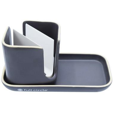 Full Circle Stash Sink Caddy Grey