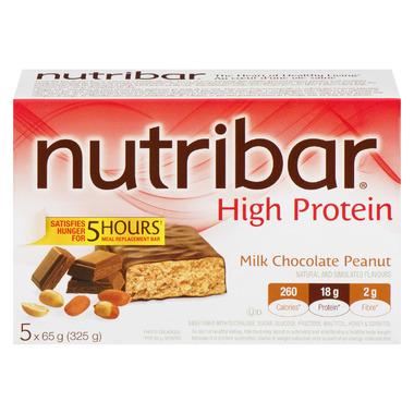 Nutribar High Protein Milk Chocolate Peanut