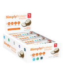 Simply Protein Whey Bars Coconut Case