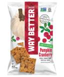 Way Better Snacks Pumpkin Cranberry Corn Tortilla Chips