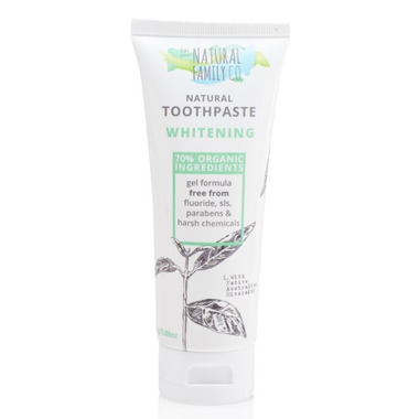 The Natural Family Co. Whitening Toothpaste