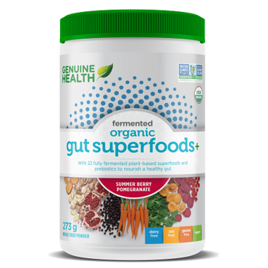 Genuine Health Fermented Organic Gut Superfoods+ Summer Berry-Pomegranate