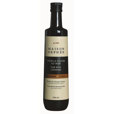 Maison Orphee Organic Unrefined Sesame Oil