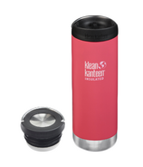 Klean Kanteen TKWide Melon Punch Traveler + Loop Cap Bundle