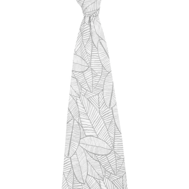 aden + anais Comfort Knit Zebra Plant Swaddle Blanket