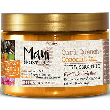 Maui Moisture Curl Quench Coconut Oil Curl Smoothie