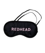 Brunette The Label Redhead Sleep Mask Black/Pink