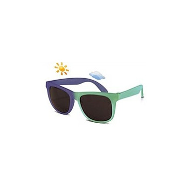 Real Shades Switch Colour Changing Wayfarer Green Blue