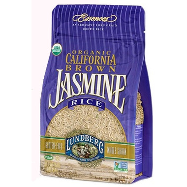 Lundberg Organic California Brown Jasmine Rice