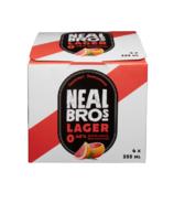 Neal Brothers Bière Blonde Sans Alcool au Pamplemousse