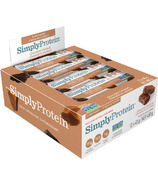 Simply Protein Bars Chocolate Caramel Case