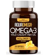 AquaOmega Omega-3 Fish Oil Daily Maintenance