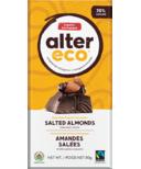 Alter Eco Dark Organic Chocolate Salted Almonds