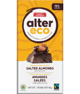 Alter Eco Dark Organic Chocolate Salted Almonds